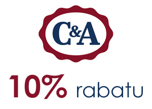 10% rabatu do C&A
