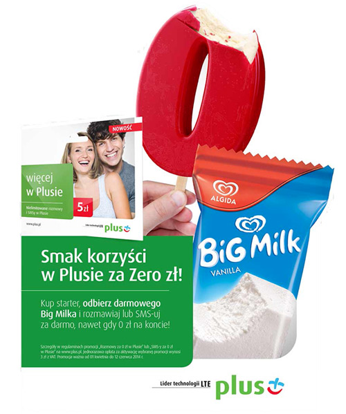 Big Milk gratis na Statoil