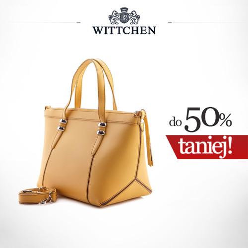 26694393d36bd Wittchen torebki do 50% taniej