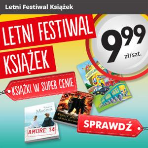 Letni Festiwal Książek w Biedronce – ceny od 9,99 zł