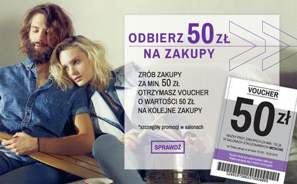 Voucher Medicine 50 zł