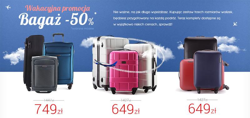 de61216e6d5bb Walizki Wittchen - wakacyjna promocja -50% | aktualnerabaty.pl