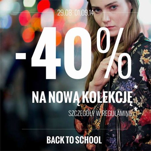 House 40% rabatu – back to school