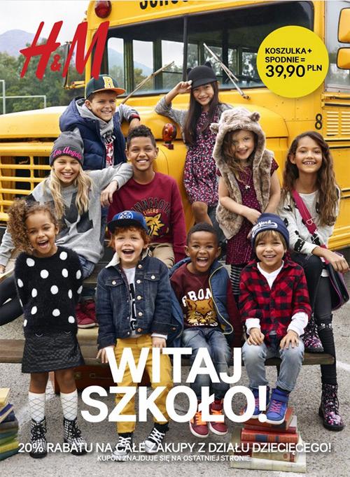 Kupon rabatowy 20% na kolekcję dziecięcą H&M