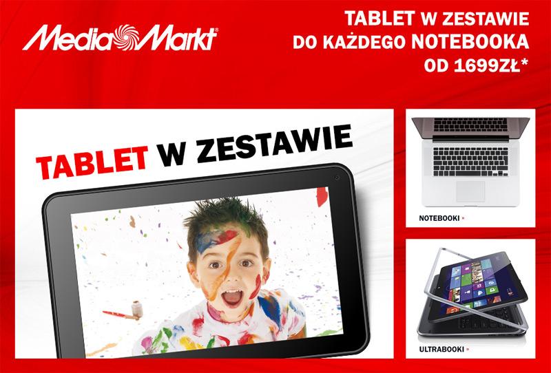 Tablet gratis w Media Markt
