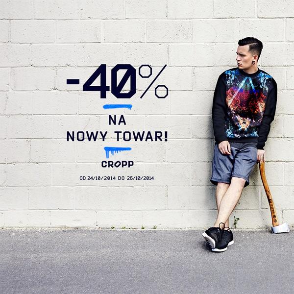 Cropp 40% rabat (październik 2014)