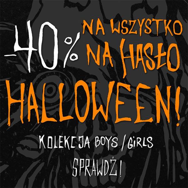 Cropp rabat 40% na Halloween