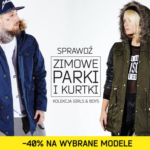 Zimowe kurtki i parki 40% taniej w CROPP