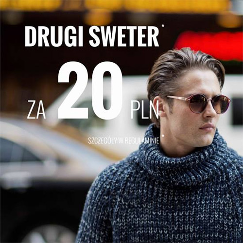 House drugi sweter za 20 zł