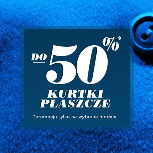 Kurtki i płaszcze do 50% taniej w Mohito