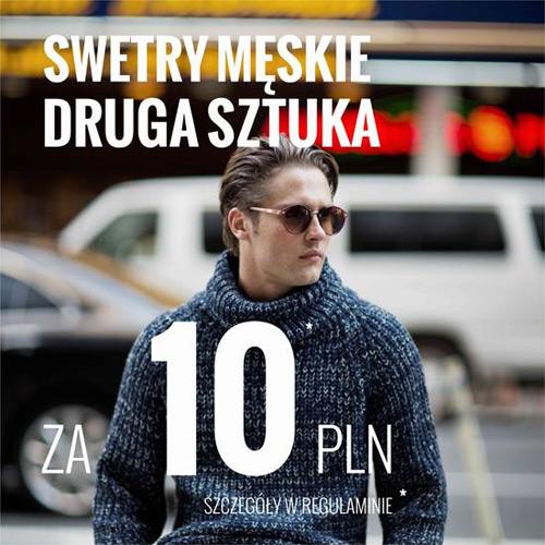 Drugi sweter za 10 zł w House