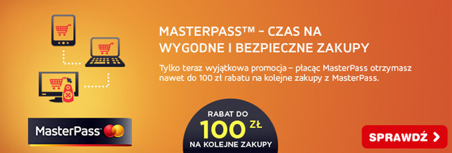MastserPass do 100 zł na zakupy w OleOle.pl