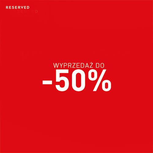 Wyprzedaż RESERVED do -50% (zima 2014)
