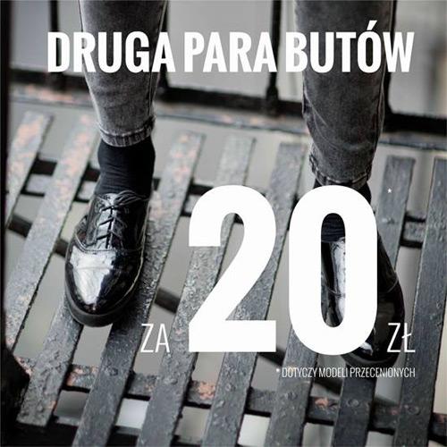 House druga para butów za 20 zł – styczeń 2015