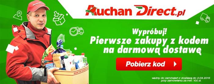 Darmowa dostawa na AuchanDirect.pl