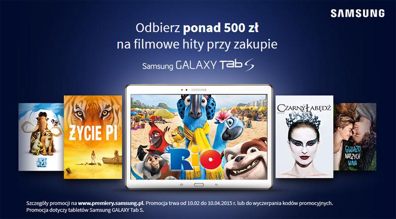 Samsung 500 zł na filmowe hity w CHILI