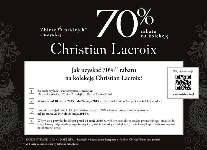 Christian Lacroix W Carrefour Z Rabatem 70 Aktualnerabaty Pl