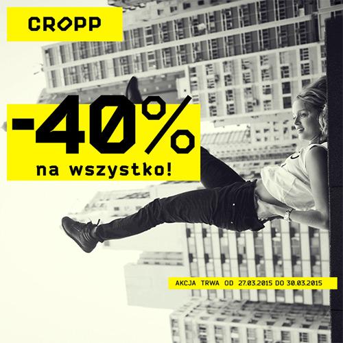 Cropp kupon rabatowy 30% lub 40%