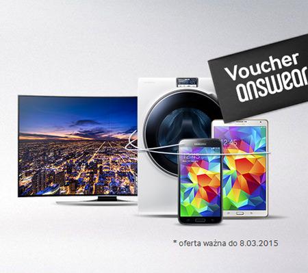 Karta prezentowa Answear w prezencie od Samsung
