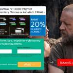 NC+ rabat 20% na pakiety CANAL+
