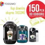 Bosch Tassimo zwrot 150 zł