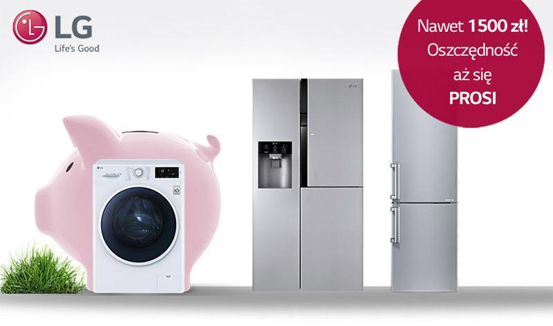 LG zwrot gotówki za zakup pralki lub lodówki