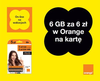orange yes pakiet internetowy