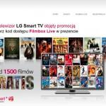 1500 filmów od LG w prezencie