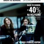 House Back to School kupon rabatowy 40%