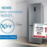 Kup lodówkę Indesit i odbierz 150 zł na karcie podarunkowej
