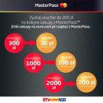 Voucher do 200 zł do Euro RTV AGD za zakupy z MasterPass