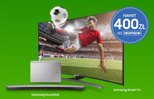 Bon do Decathlon za zakup telewizora Samsung