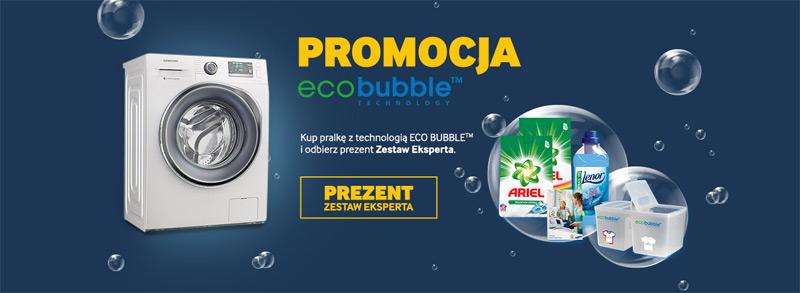 Zestaw Eskperta gratis do pralki Samsung Eco Bubble