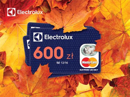 Electrolux jesień pełna korzyści – zwrot gotówki