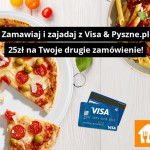 Pyszne.pl – promocja VISA 25 zł kupon