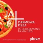 Plus darmowa pizza w Telepizza za doładowanie