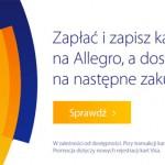 Kupon rabatowy Allegro przy płatności karta VISA