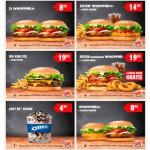 Kupony rabatowe Burger King – zima 2016