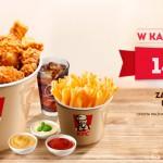 Kubełek KFC we wtorek za 14,95 zł