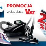 Promocja Philips – zwrot wartości VAT za zakup żelazka lub odkurzacza