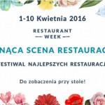Restaurant Week od 1 do 10 kwietnia 2016