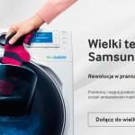Zostań ambasadorem Samsung i przetestuj nową pralkę AddWash