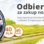Kupony Allegro za opony – 80 zł za zakup nowych opon