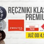 Ręczniki Zwoltex za pół ceny w POLOmarket