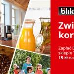 Promocja BLIK i Tchibo – 15 zł na kolejne zakupy