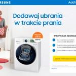 Samsung AddWash – prezent 200 zł do Zalando