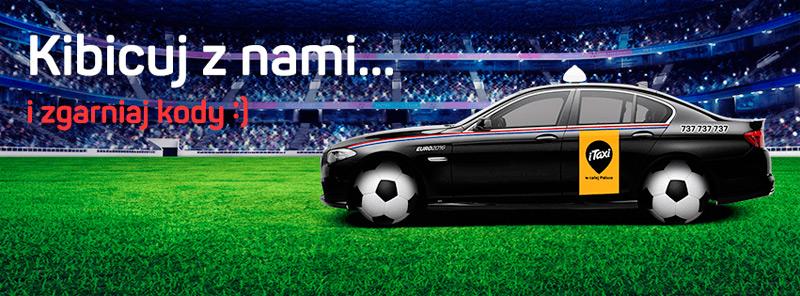 Kupon rabatowy iTaxi na Euro 2016