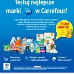 Wielkie testowanie produktów P&G w Carrefour