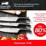 Kolekcja Sabatier z rabatem za naklejki w Carrefour