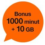 Bonus za rejestrację numeru w Orange
